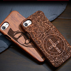 Genuine Wooden Case For iPhone,iPhone ,5, 5S, SE, 5C, and 6 - ECO-ISTS