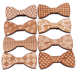 Woodies for Everybody! The wooden bow tie is so HOT! And Vegan! And Fun!