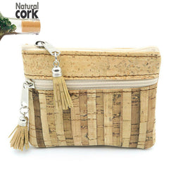 Natural cork handmade coin purse - ECO-ISTS