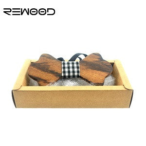 Wooden Bow Tie for Weddings, Parties and Fun. Vegan Casual Chic - ECO-ISTS