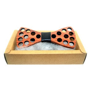 Wooden Bow Ties make a fashion statement: The Woody Rocks! For parties and weddings - ECO-ISTS