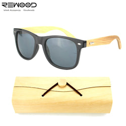 Bamboo Unisex Sunglasses Summer 2017 - ECO-ISTS