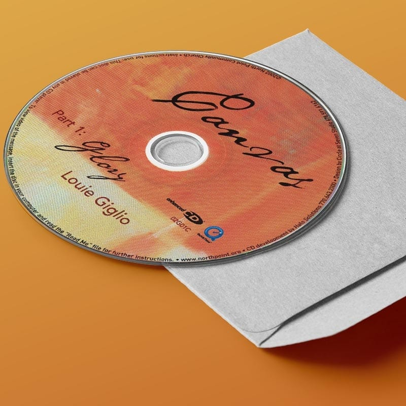 Canvas CD Series | God is working on the canvas of our lives so we can bring glory to Him | Sermon Series with Louie Giglio and Andy Stanley