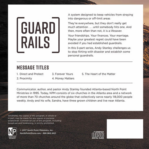 Guardrails 2017 CD Series Back