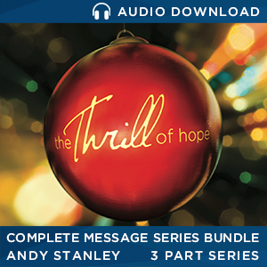 The Thrill of Hope Audio Download