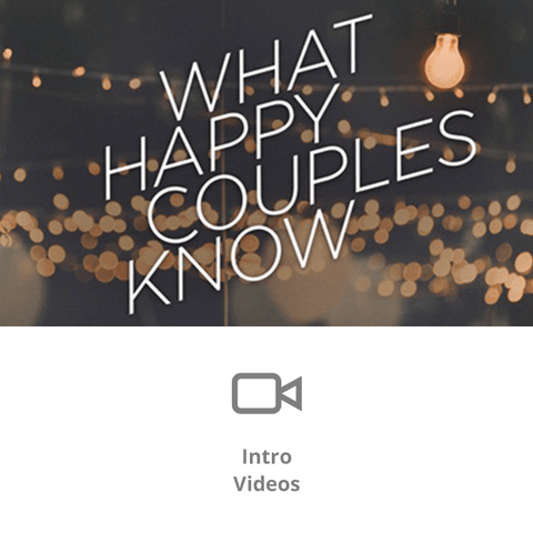 What Happy Couples Know Sermon Intro Videos