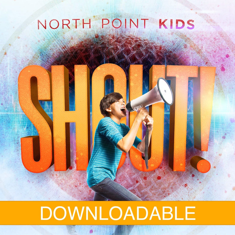 North Point Kids:  Shout Lyric Video | God Is With Us
