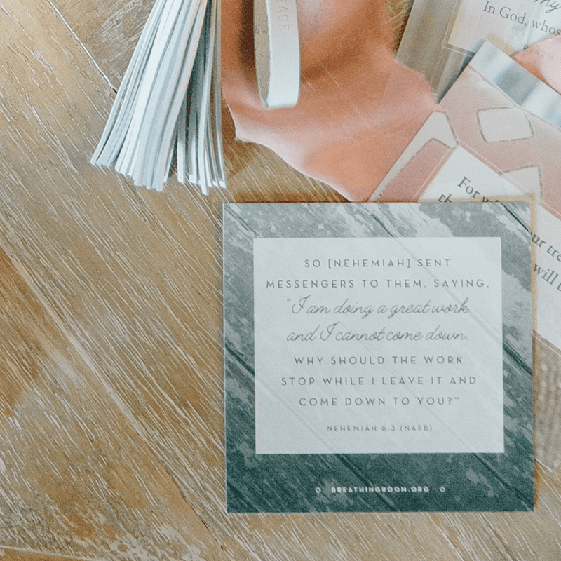 Breathing Room Scripture Cards