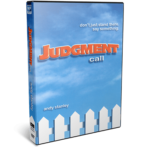 Judgment Call DVD Message Series by Andy Stanley