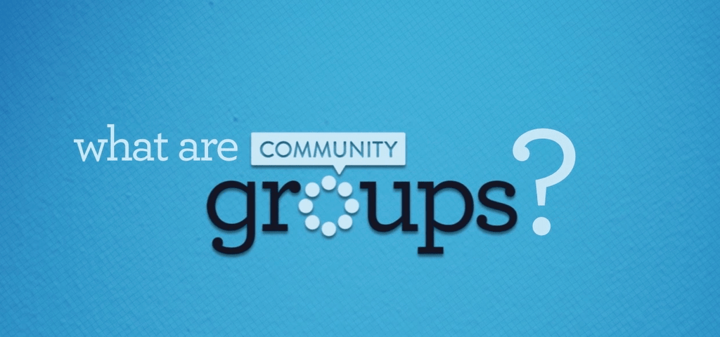 Groups Promo Video | Healthy Relationships and Spiritual Growth