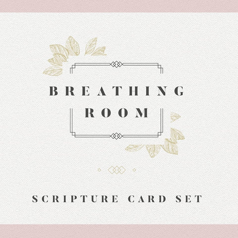 Breathing Room Scripture Cards Front