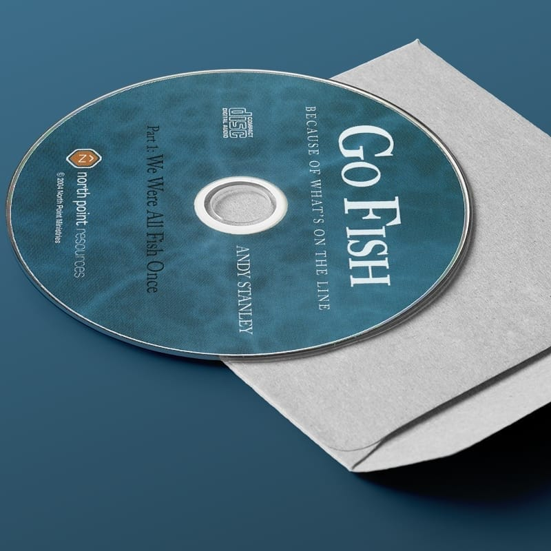 Go Fish CD Series on Evangelism by Andy Stanley