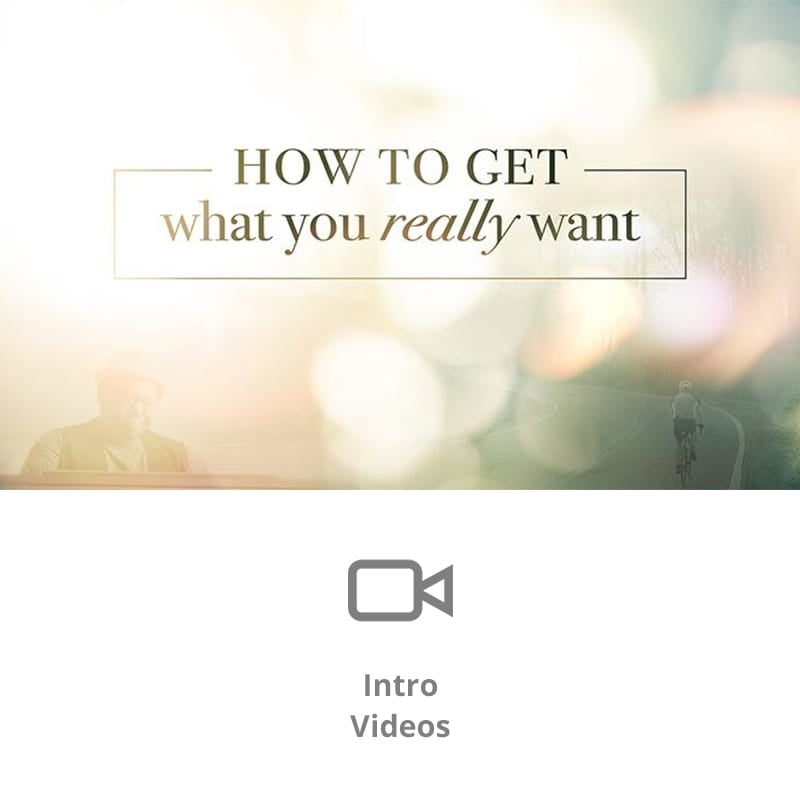 How To Get What You Really Want Sermon Intro Video