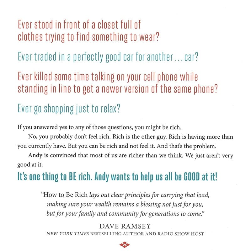 How to be Rich by Andy Stanley