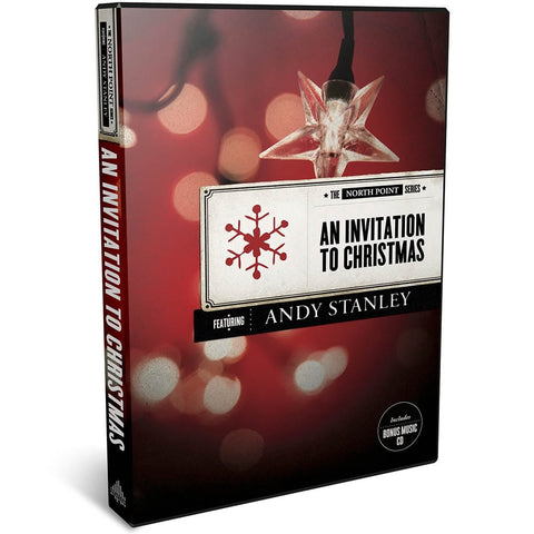 An Invitation to Christmas DVD Christmas Message from Andy Stanley