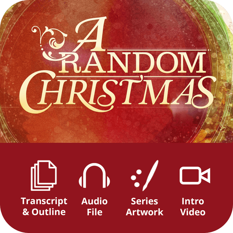 A Random Christmas Premium Sermon Kit | 1-Part