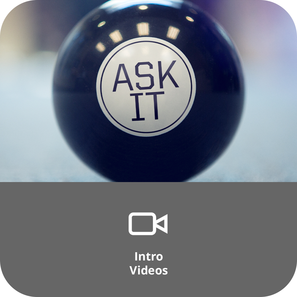 Ask It Sermon Intro Videos