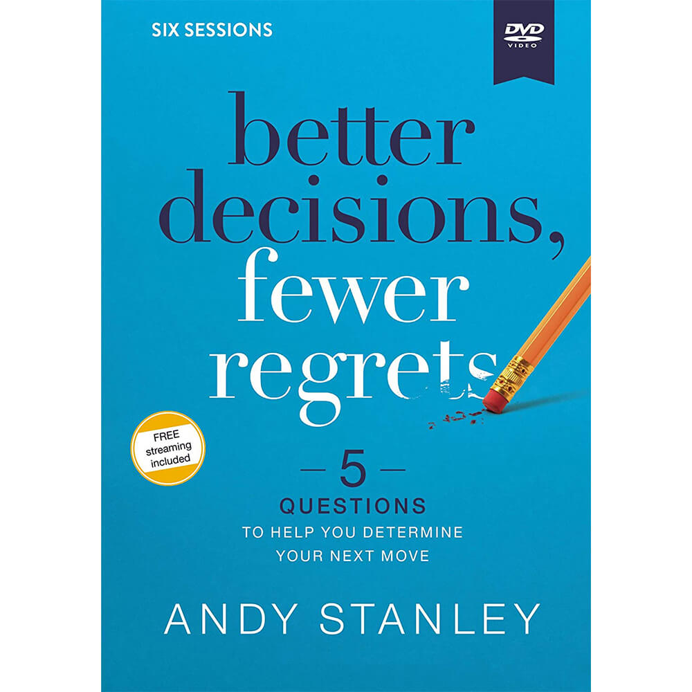 Better Decisions, Fewer Regrets Video Study