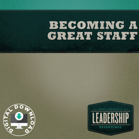 Becoming a Great Staff Digital Download