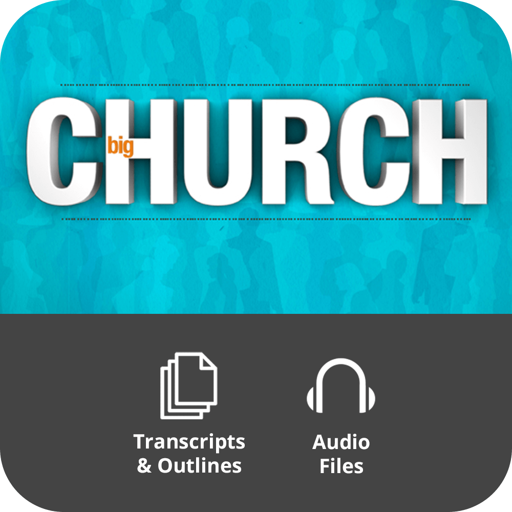 Big Church Basic Sermon Kit | 7-Part
