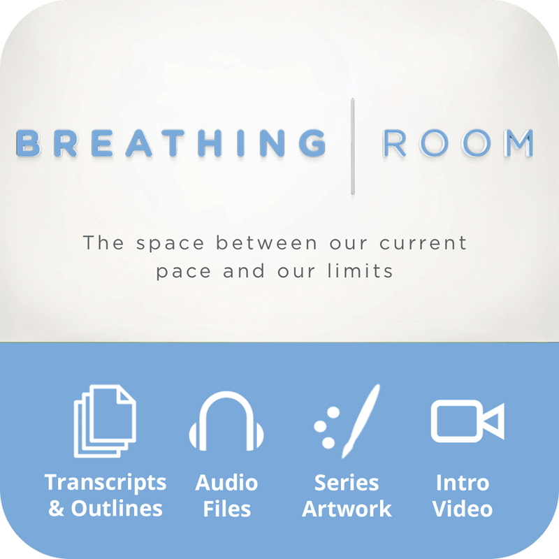 Breathing Room Premium Sermon Kit | 4-Part