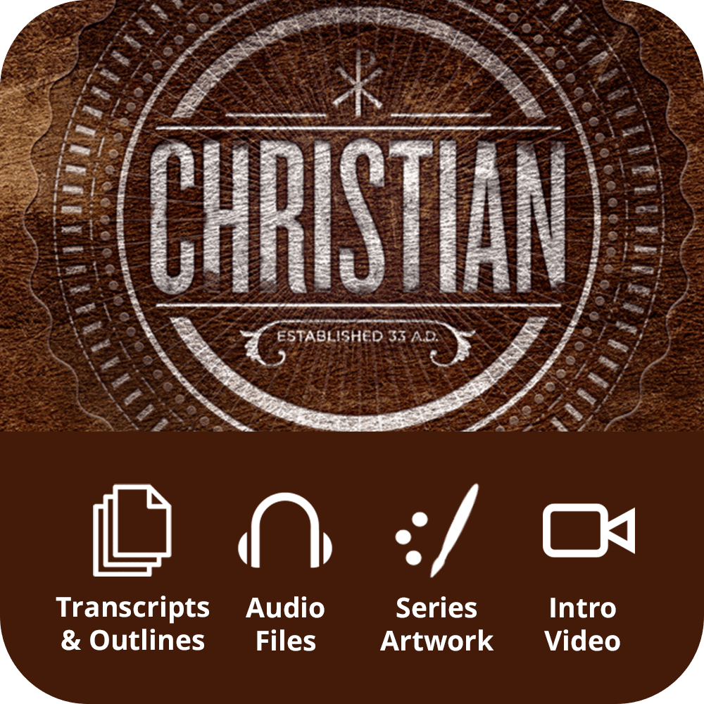 Christian Premium Sermon Kit | 8-Part