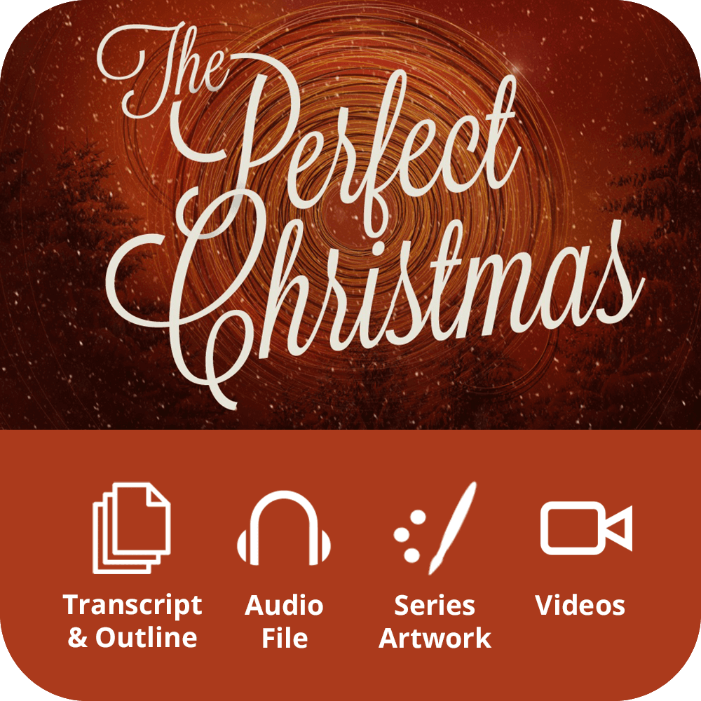 The Perfect Christmas Premium Sermon Kit | 1-Part