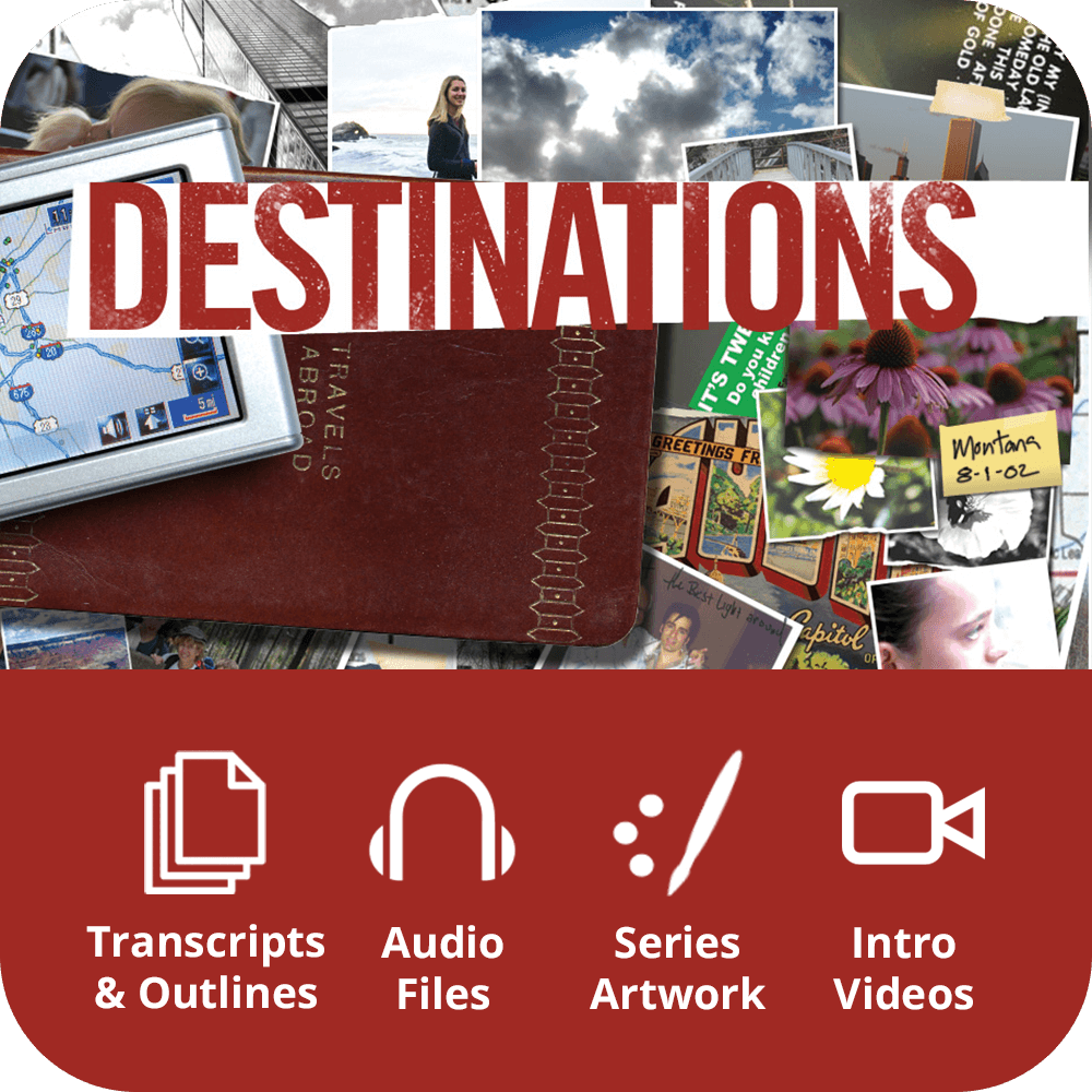 Destinations Premium Sermon Kit | 4-Part