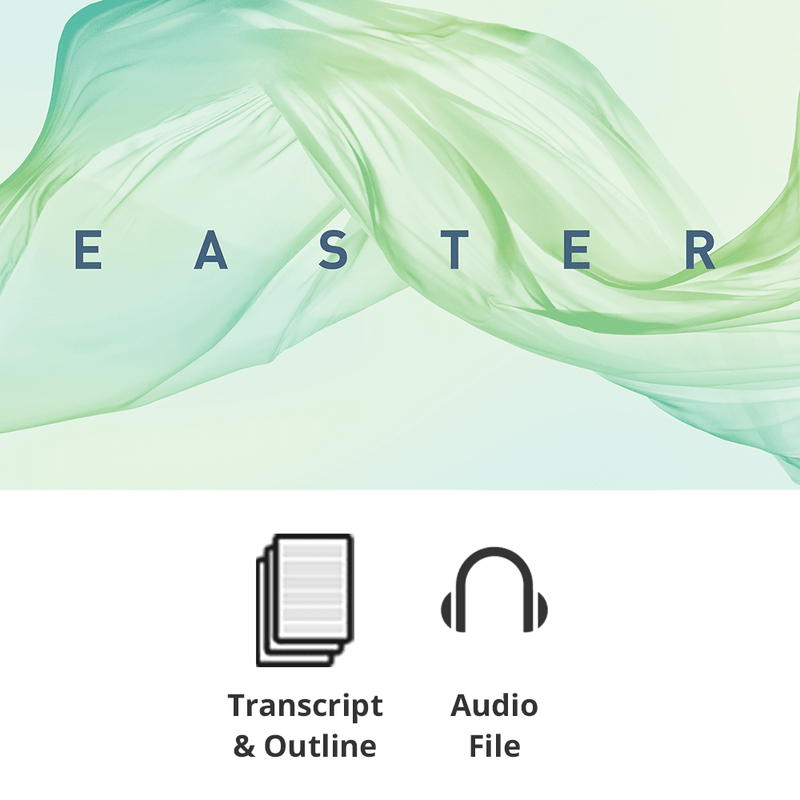 Easter 2018 Basic Sermon Kit | 1-Part