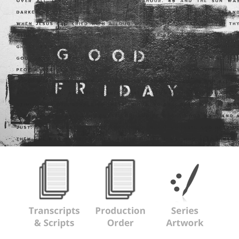 Good Friday 2018 Basic Sermon Kit | 1-Part