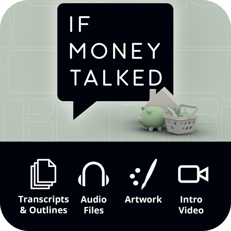 If Money Talked Workbook