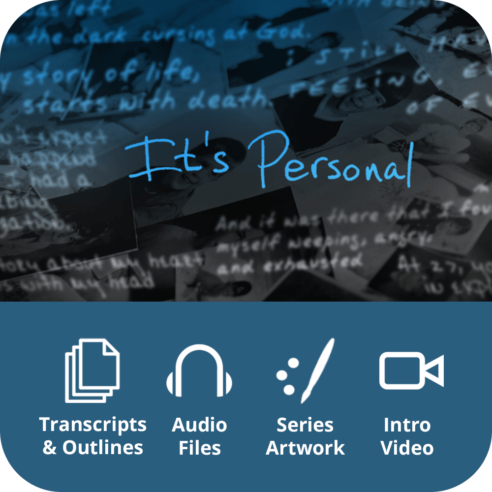 It's Personal Premium Sermon Kit | 4-Part