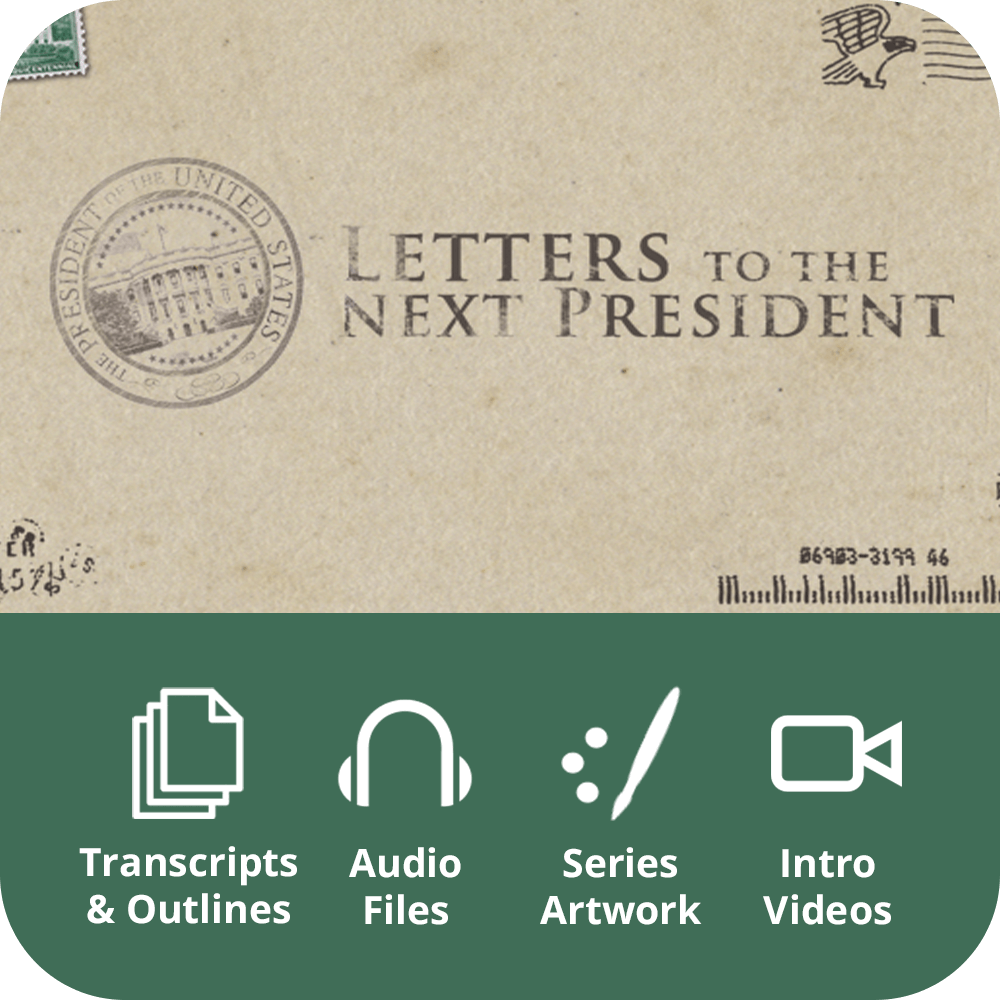 Letters to the Next President Premium Sermon Kit | 3-Part