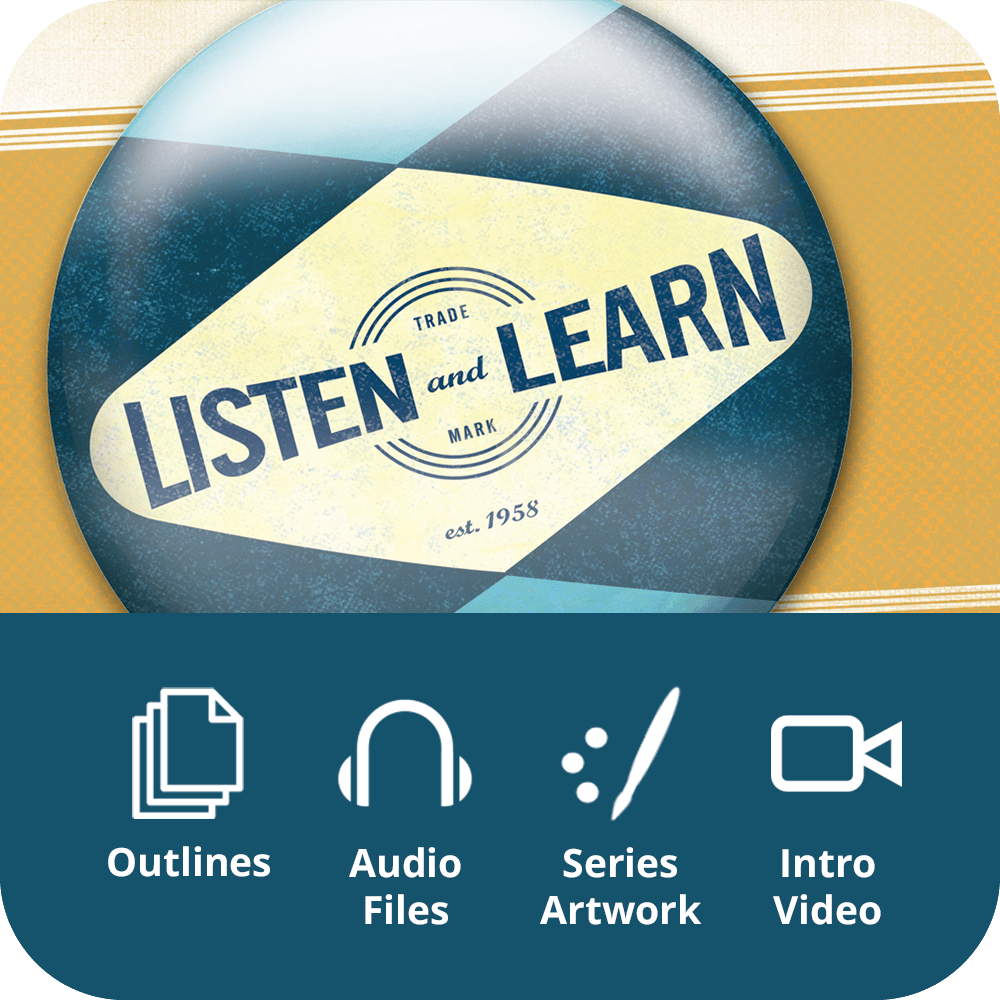 Listen and Learn Premium Sermon Kit | 3-Part