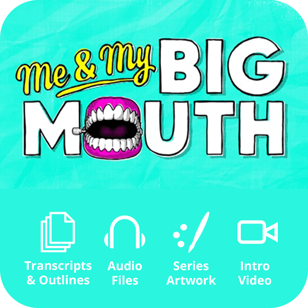 Me & My Big Mouth Premium Sermon Kit | 4-Part