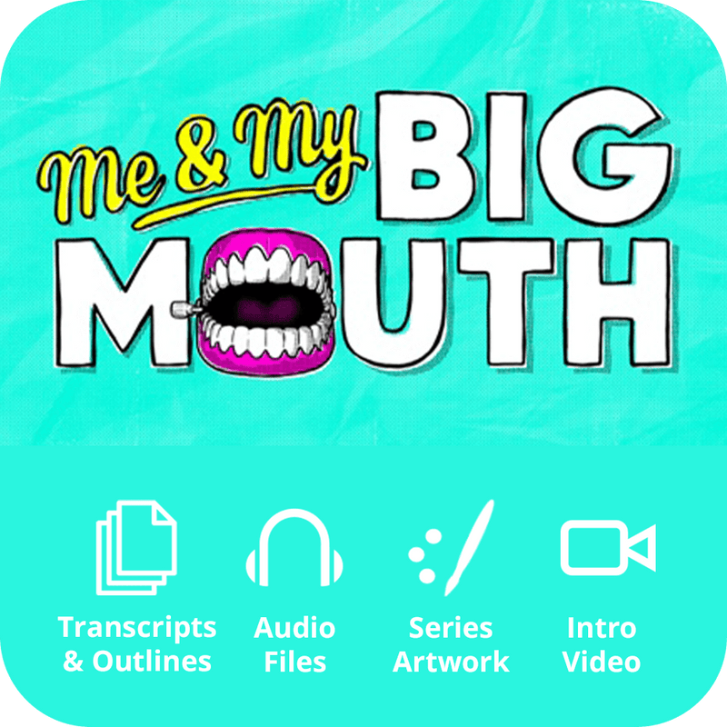 Me & My Big Mouth Basic Sermon Kit | 4-Part