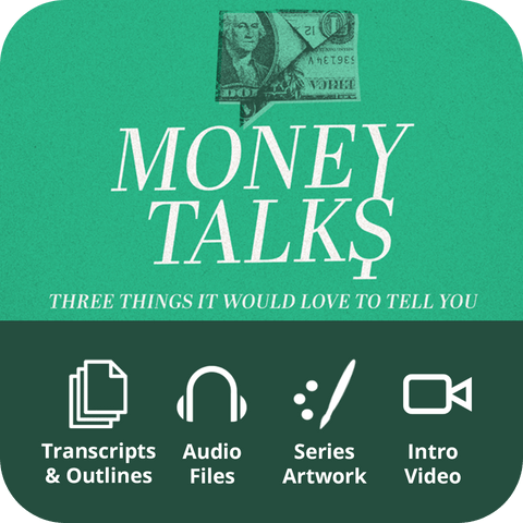 Money Talks Premium Sermon Kit | 3-Part