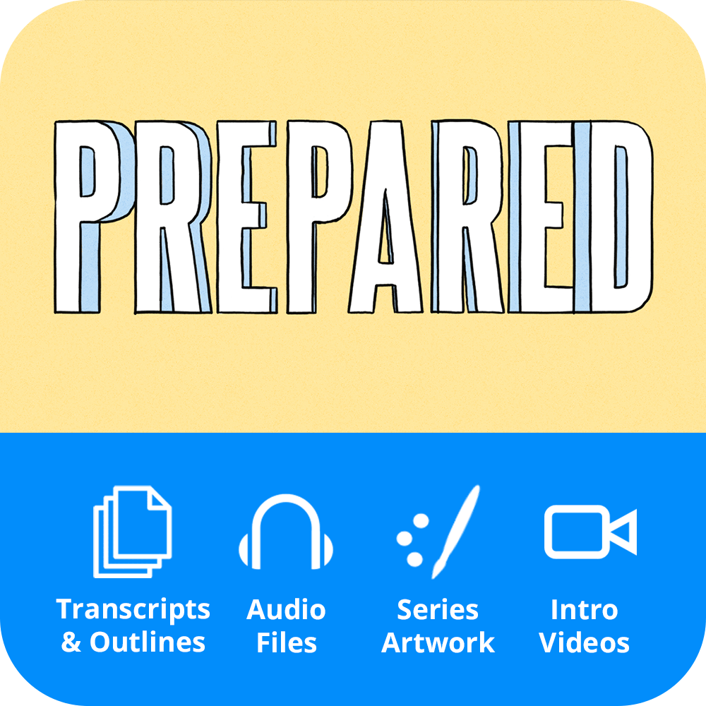 Prepared Premium Sermon Kit | 3-Part