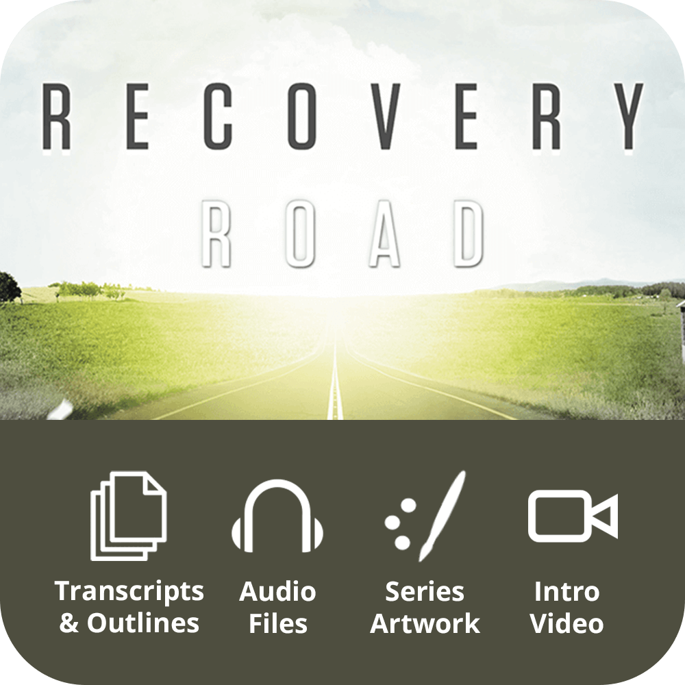 Recovery Road Premium Sermon Kit | 6-Part
