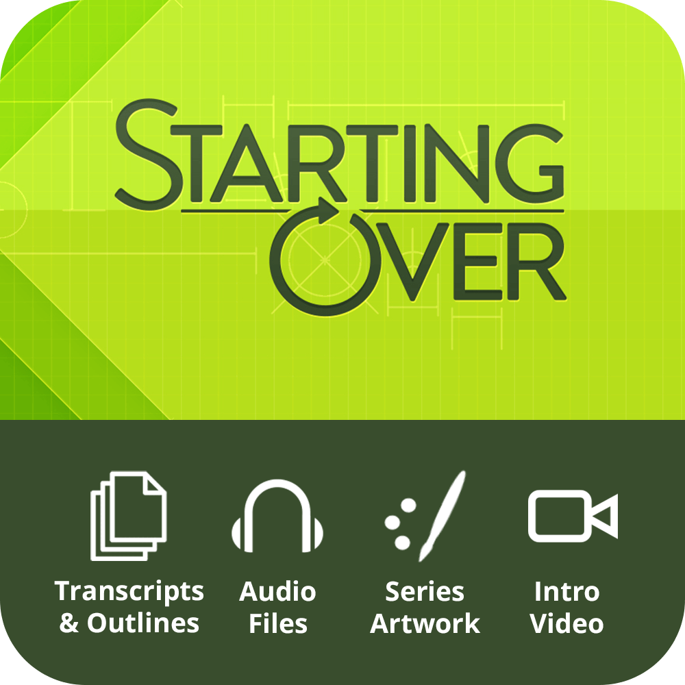 Starting Over Premium Sermon Kit | 4-Part