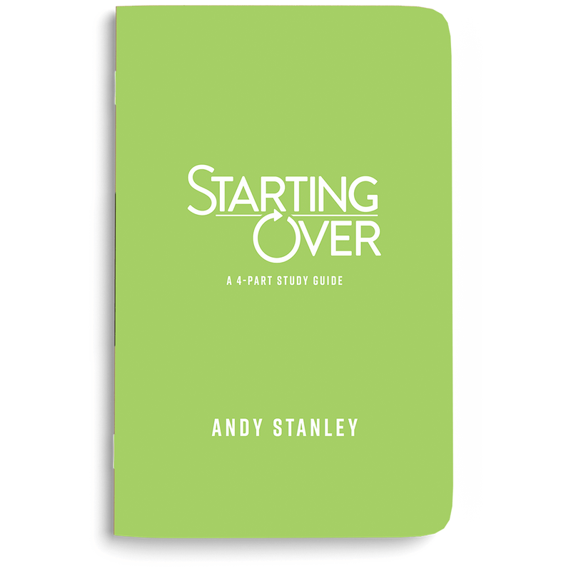 Starting Over Study Guide