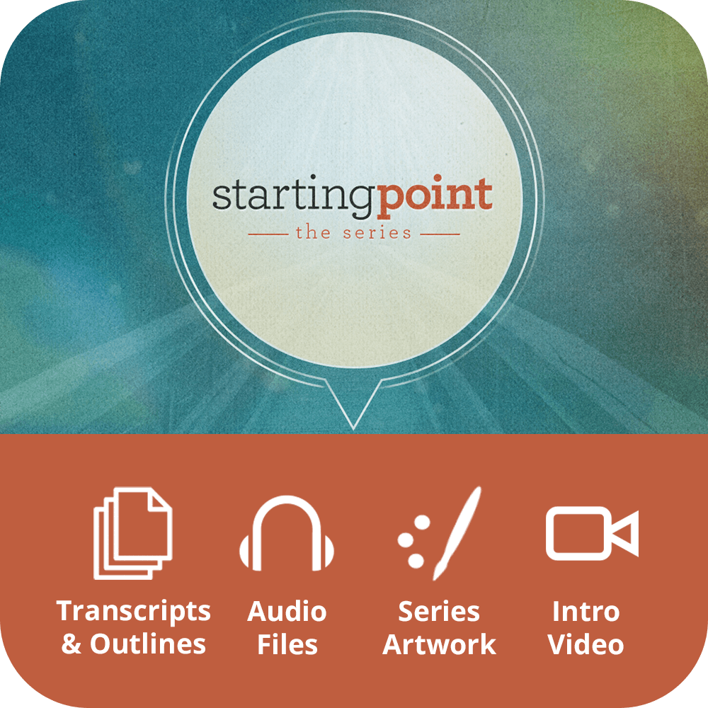 Starting Point Premium Sermon Kit | 8-Part