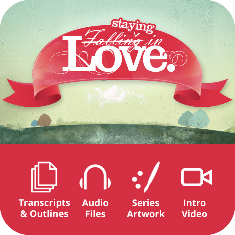 Staying in Love Premium Sermon Kit | 4-Part