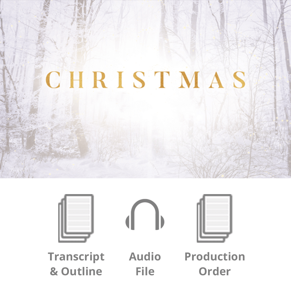 The Wonder of Christmas Basic Sermon Kit | 1-Part