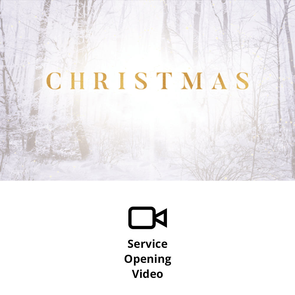 The Wonder of Christmas Service Opening Video