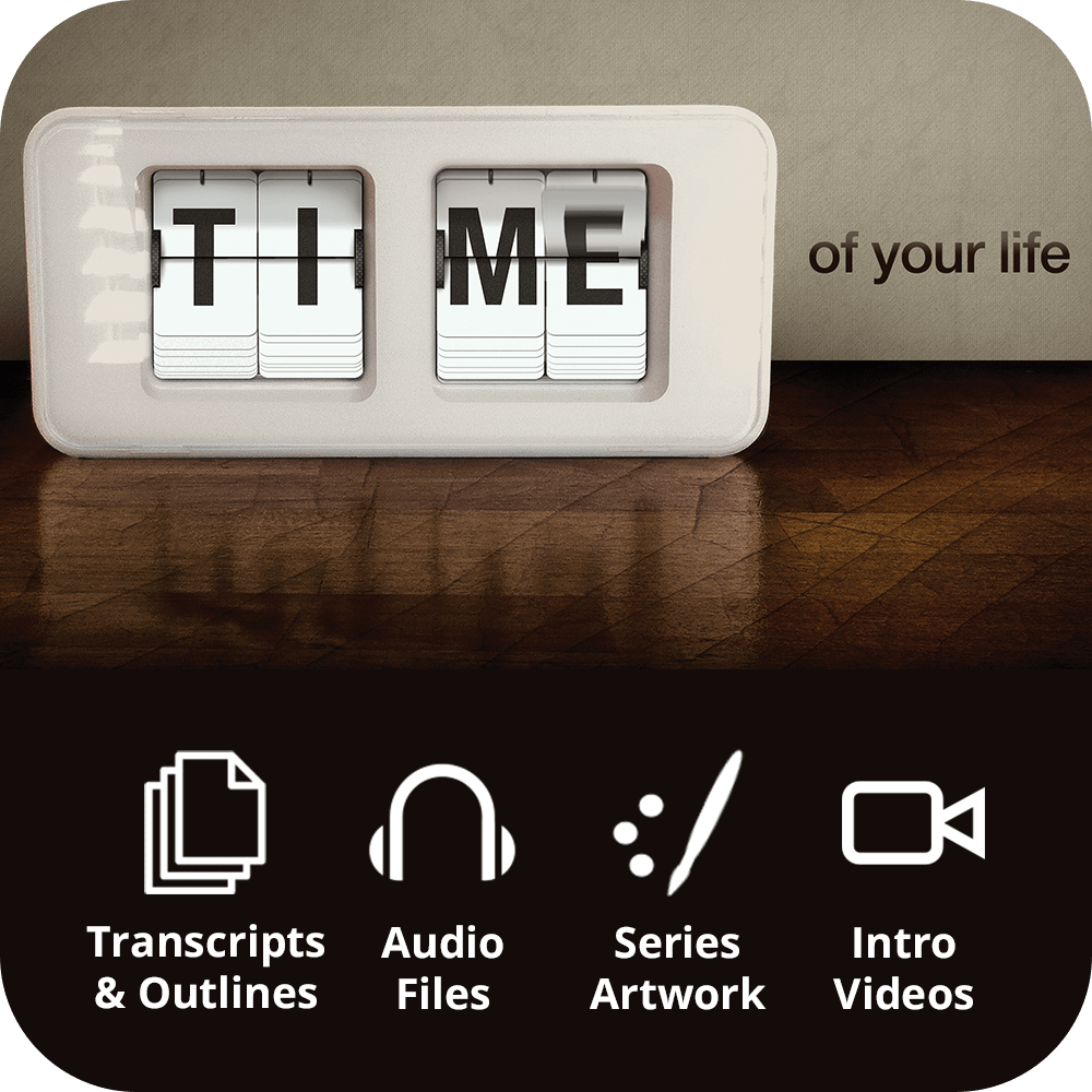 Time of Your Life Premium Sermon Kit | 5-Part