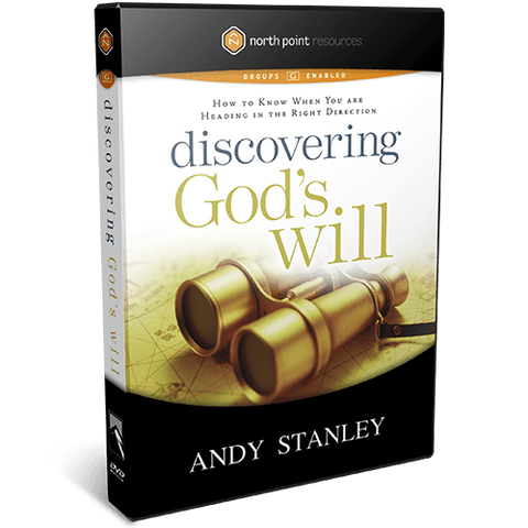 Discovering God's Will DVD Message Series by Andy Stanley