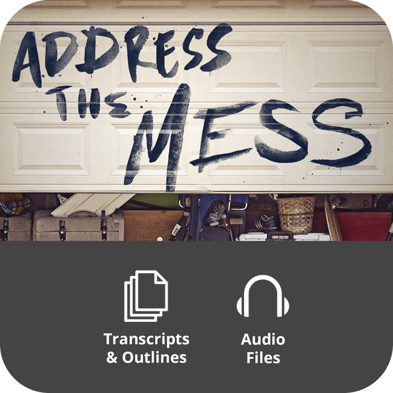 Address the Mess Premium Sermon Kit | 4-Part