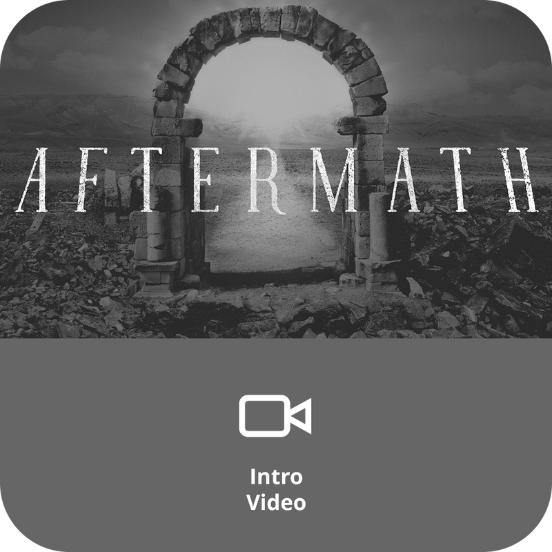 Aftermath Basic Sermon Kit | 3-Part