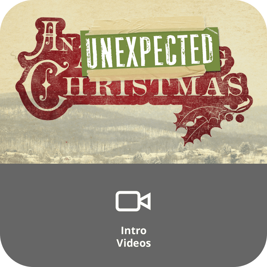 An Unexpected Christmas Sermon Intro Videos